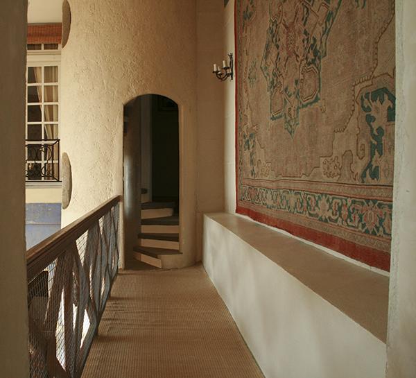 Spiral Staircase Hallway