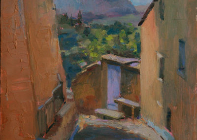 View From the Top - Gordes SOLD. Sold art by Julie Snyder