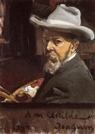 Self Portrait Joaquin Sorolla Y Bastida