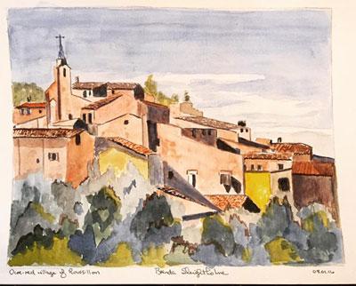 Brenda Sleightholme Painting 1