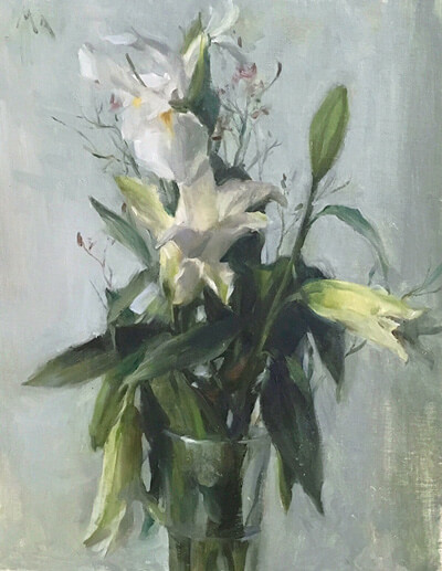 White Lilies by Kyle Ma