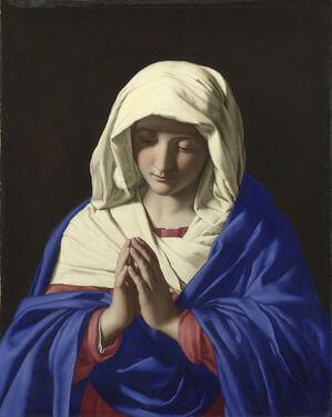 Sassoferrato Virgin