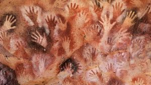 Prehistoric to Modern Art. Venetian Red (ferric oxide) has been used inHands in the Lascaux Caves of France
