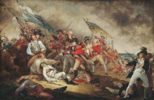 Death of General Warren Redcoats Venetian Red