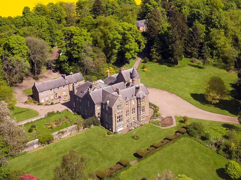 Scottish Manor House for Artists