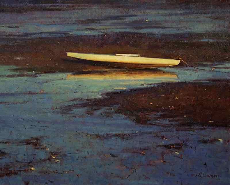 Marc Hanson, Oil painting 04
