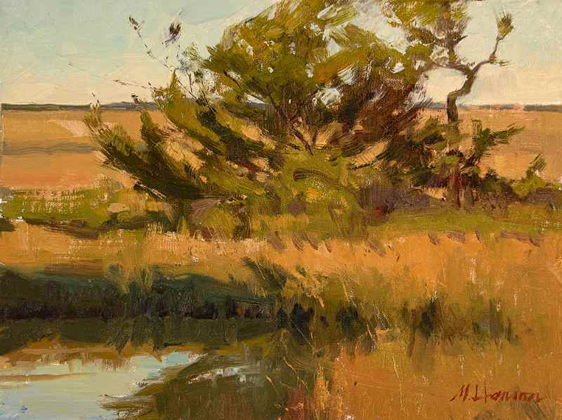 Marc Hanson, Oil painting 022