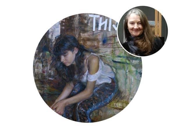 Rose Frantzen Paints Provence