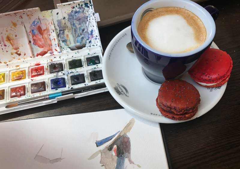 Coffee is an Art Form in France