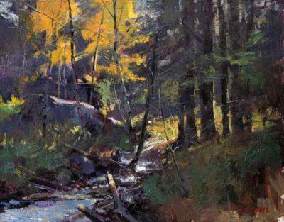 Marc Hanson, Oil Painting 01
