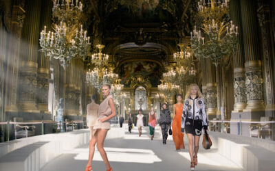 Fine Art + Parisian Fashion