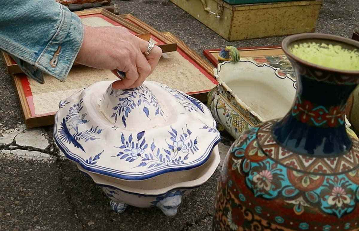 Tureen found at a vide-grenier