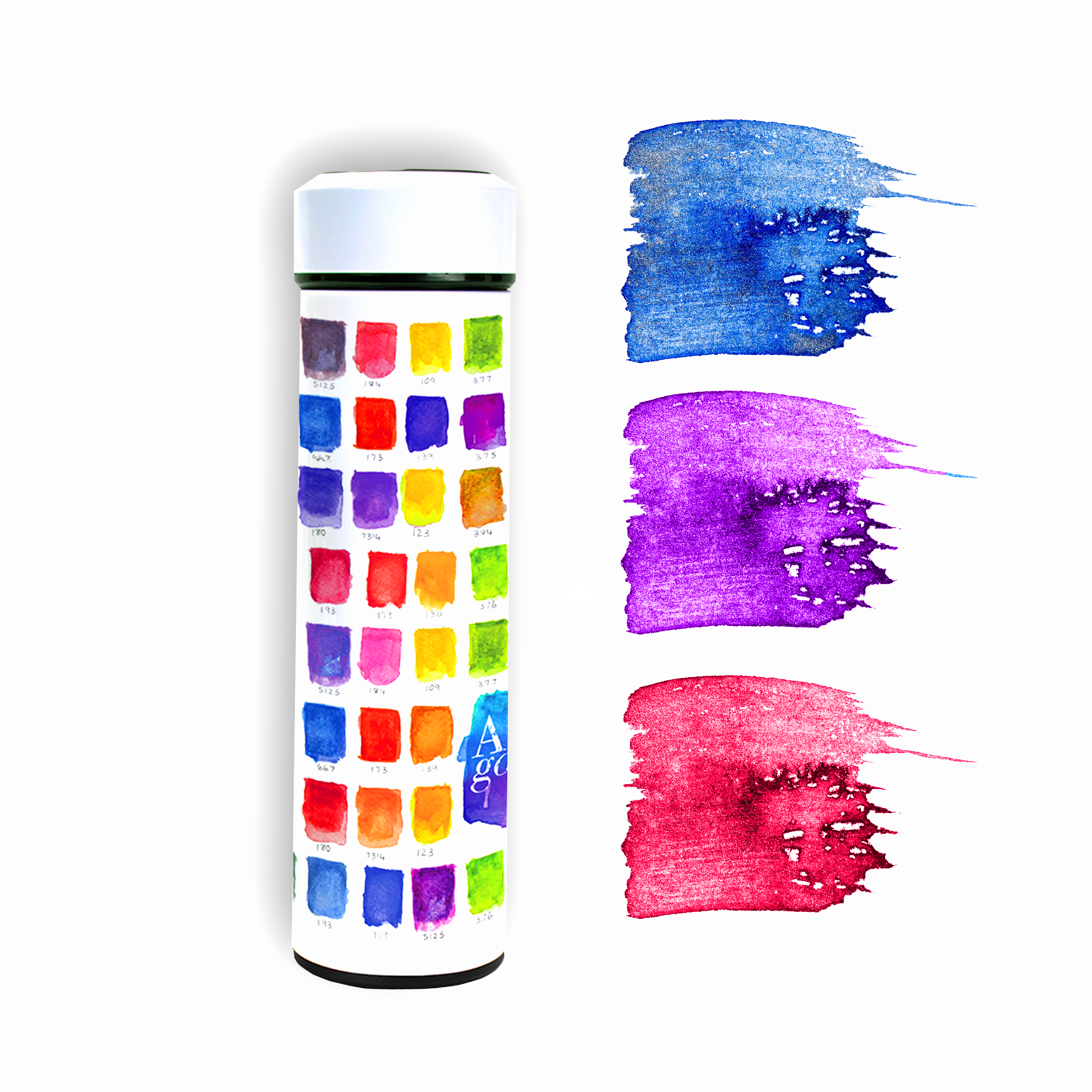 Masterpiece Drinkware, Swatches, The Contour
