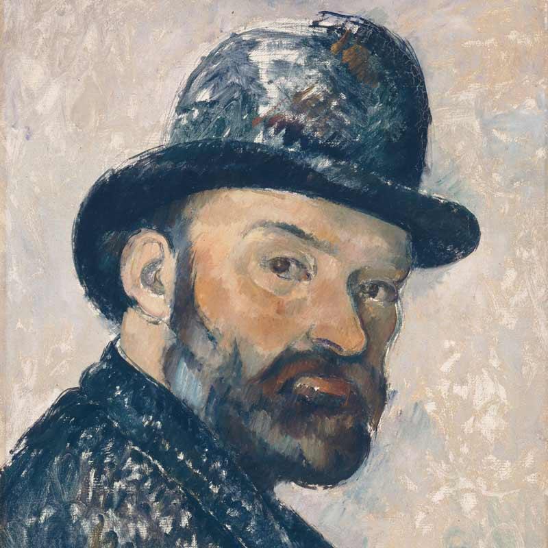 Cézanne in the magnificent Carrières de Lumières
